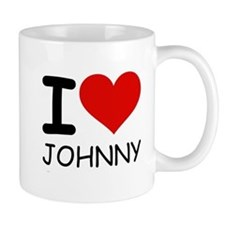 I LOVE JOHNNY Mug
