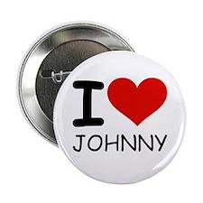 "I LOVE JOHNNY 2.25"" Button"