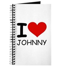 I LOVE JOHNNY Journal