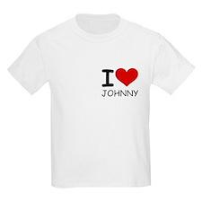 I LOVE JOHNNY T-Shirt