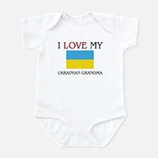 I Love My Ukrainian Grandma Infant Bodysuit