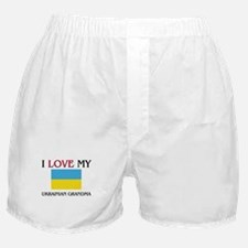 I Love My Ukrainian Grandma Boxer Shorts