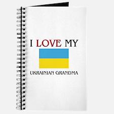 I Love My Ukrainian Grandma Journal