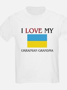 I Love My Ukrainian Grandma T-Shirt