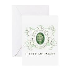 Little Mermaid - Portrait Greeting Card