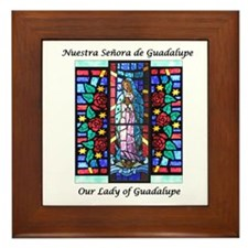 Our Lady of Guadalupe/Nuestra Framed Tile
