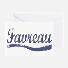 Favreau Greeting Card