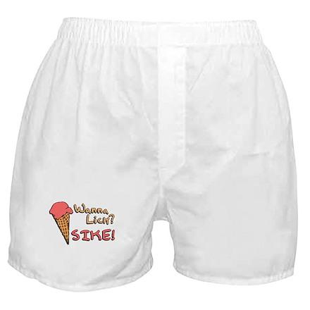 Wanna Lick? Boxer Shorts