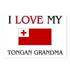 I Love My Tongan Grandma Postcards (Package of 8)