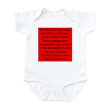 Flagged! Infant Bodysuit