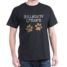 Bullmastiff Grandpa T-Shirt
