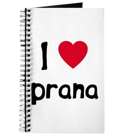 I love Prana Journal