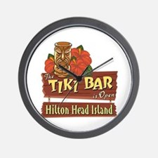 Hilton Head Tiki Bar - Wall Clock