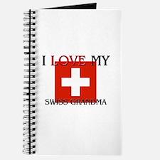 I Love My Swiss Grandma Journal