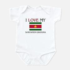 I Love My Surinamer Grandma Infant Bodysuit