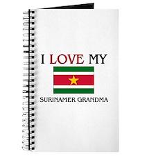 I Love My Surinamer Grandma Journal
