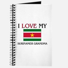 I Love My Surinamer Grandma Journal