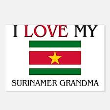 I Love My Surinamer Grandma Postcards (Package of