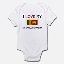 I Love My Sri Lankan Grandma Infant Bodysuit