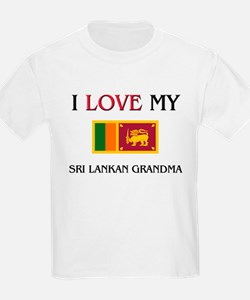I Love My Sri Lankan Grandma T-Shirt