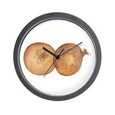 two onions Wall Clock