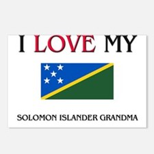 I Love My Solomon Islander Grandma Postcards (Pack