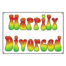 Happily Divorced 60s Banner