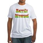 Happily Divorced 60s Fitted T-Shirt