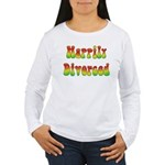 Happily Divorced 60s Women's Long Sleeve T-Shirt
