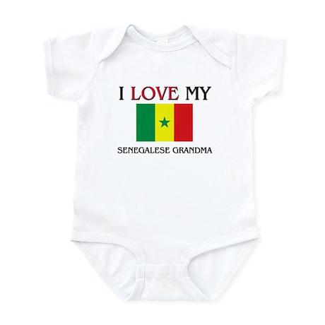 I Love My Senegalese Grandma Infant Bodysuit