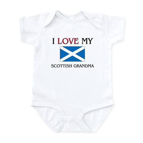 I Love My Scottish Grandma Infant Bodysuit