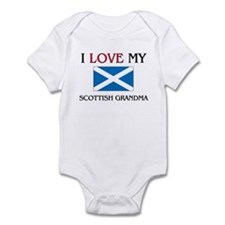 I Love My Scottish Grandma Infant Bodysuit