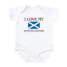 I Love My Scottish Grandma Onesie