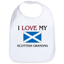 I Love My Scottish Grandma Bib