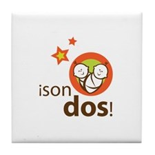 Son Dos - It's Two Tile Coaster