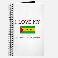I Love My Sao Tomae & Principe Grandma Journal