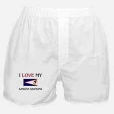 I Love My Samoan Grandma Boxer Shorts