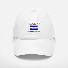 I Love My Salvadoran Grandma Baseball Baseball Cap