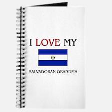 I Love My Salvadoran Grandma Journal