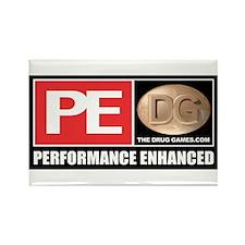 PE Logos Rectangle Magnet