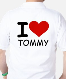 I LOVE TOMMY Golf Shirt