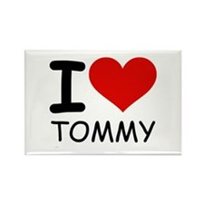 I LOVE TOMMY Rectangle Magnet (10 pack)