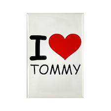 I LOVE TOMMY Rectangle Magnet