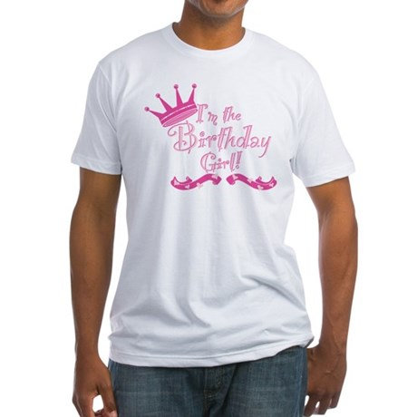 BirthdayGirl2 Fitted T-Shirt