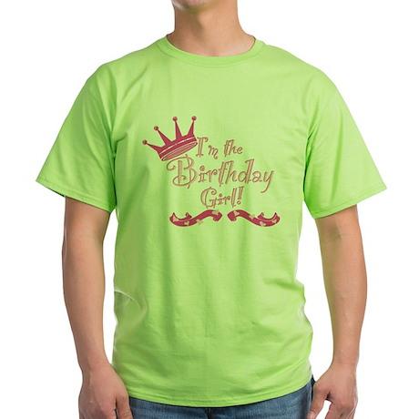 BirthdayGirl2 Green T-Shirt