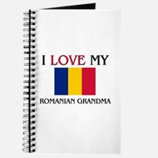 I Love My Romanian Grandma Journal