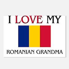 I Love My Romanian Grandma Postcards (Package of 8