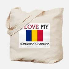 I Love My Romanian Grandma Tote Bag