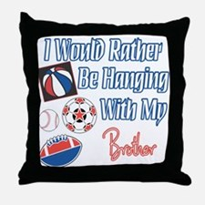 Sports Brother Throw Pillow