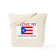 I Love My Puerto Rican Grandma Tote Bag